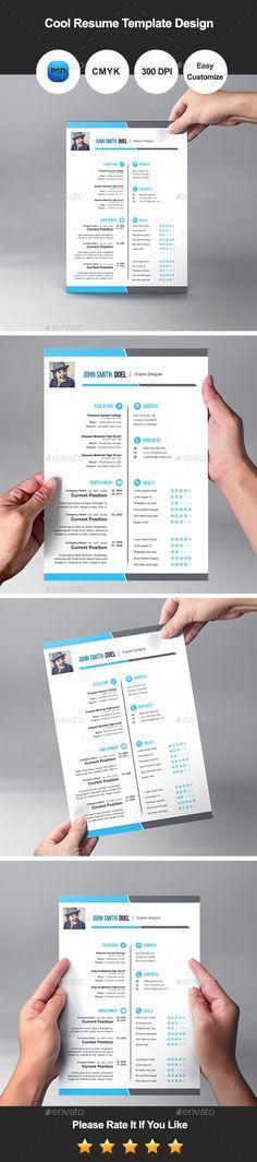50 Best Resume Templates For 2018 - 50 #bestof2017 #resumetemplate - microsoft word resume templates 2018