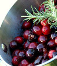 Cranberry Grape Perserves