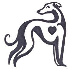 greyhound silhouette - Google Search
