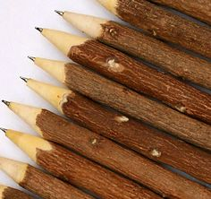 Handmade Rustic Wooden Natural Twig Pens (2.80 AUD) by SheerEthic