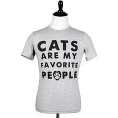 'Cats Are My Favorite People' Tee | Animal Hearted - Apparel For Animal Lovers – Animal Hearted Apparel