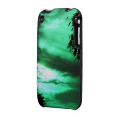 Green Clouded Sky Speck iPhone 3 case from Zazzle.com