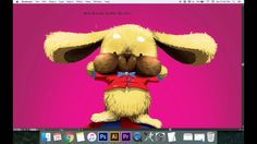 How to drawing rabbit with feather detail - tutorial Illustrator cs6