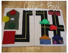 Quiet Book ideas (and many free patterns)