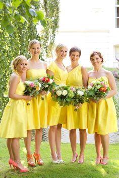 Photography: SugarLove Weddings   Bridesmaids Dresses: Alfred Sung