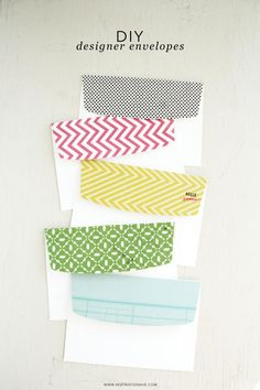 DIY Designer envelopes