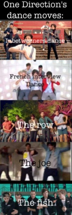 One Direction dance moves :D @Calista Tan Schofield @Billie Jo Norsworthy Stout @Emma Zangs Szilagyi