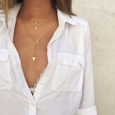 Layered and unbuttoned.  Necklace: http://rstyle.me/n/zurq6bgzq7