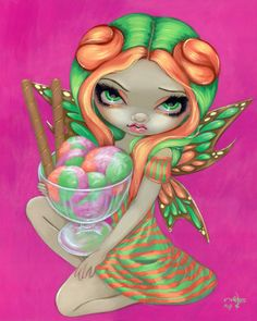 Rainbow Sherbet Fairy