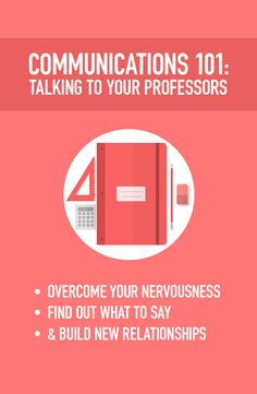 Professors can be one of THE most valuable resources for you in college.