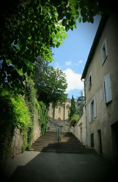 Just some stairs in Figeac.