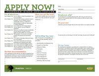 Handout: Yearbook Staff Application #Ybklove