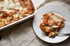Swiss Chard Lasagna from Big Girls Small Kitchen.  This lasagna was pretty easy to put together and was so yummy.