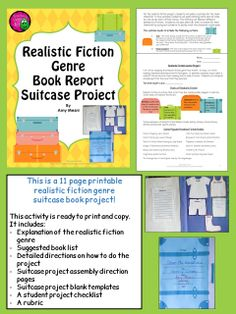 types of book report projects Response projects and requirements 1 design and make your own t-shirt illustrate a scene or character from the book on a t-shirt write a short summary of the scene and explain why it is important to the story.