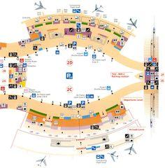 Paris Airports : Charles de Gaulle, Terminal 2C, 2D, Maps, Information
