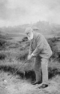 Tom Morris, at St Andrews Golf Course