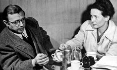 Simone De Beauvoir & Jean Paul Sartre