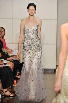 Badgley Mischka Resort 2009 Fashion Show - Cecilia Mendez