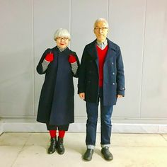This Couple Married For 37 Years Always Dress In Matching Outfits