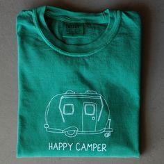 ae01c27bdd783 Happy Camper Long-Sleeved Tee from Honey Bee Tees created by my grade  school gal
