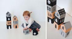 Mer Mag: DIY Stacking House Blocks