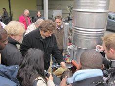 Praktische Schulung am B3 Holzgas BHKW in Duisburg