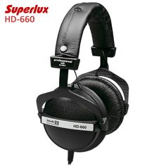 42.15$  Buy here  - New Arrivals Superlux HD-660 Professional Monitoring Music Headphones Noise Canceling Clear Sound Soft Earmuff
