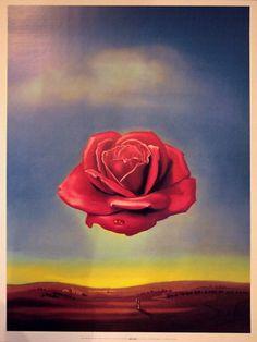 Meditative Rose by Salvador Dali (1958)