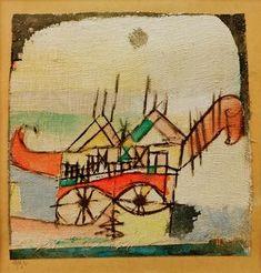Sphinxartig 1912 Paul Klee
