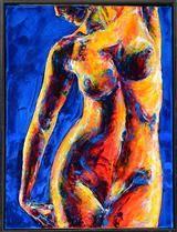 Antoni Adamski. Komposition med model