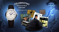 Enter to #win the RAYMOND WEIL's #maestro #FrankSinatra limited edition #watch & many more cool prizes! #RWSinatra100