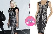 STYLE ON 'EM: Nicki Minaj in Hervé Léger.