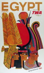 TWA Egypt Poster