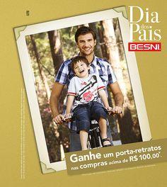 Campanha Dia dos Pais Besni - Agência DPTO