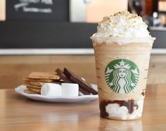 Starting tomorrow, April 23, 2016, the S'mores Frappucccino makes its official return, everywhere in Starbucks stores in Canada and the United States! This was an incredibly popular Frappuccino last year, and by popular demand, it IS back! I admit that I had a weak spot for the awesome milk chocolate sauce used in this drink!...