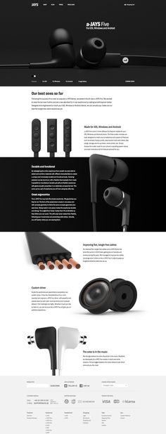 a-JAYS Five headphones                                                                                                                                                                                 More