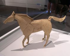 Stephen Weiss' Origami Horse - I wish I could find a diagram for this one! Apparently it uses a lion base but that's the extent of what I can find on it.