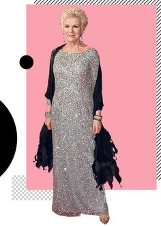 In the first of a new series, the actor explains how the gown she wore to the Baftas in 2015 helped cure her fear of red-carpet dressing Wearing A Tuxedo, Julie Walters, Sarah Gadon, Great Walks, Column Dress, Red Carpet Event, Aging Gracefully, Red Carpet Dresses, Looking Gorgeous