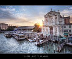 Ferrovie Della Stato Santa Lucia Train Station Venice