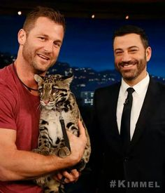 Dave and Jimmy, double drool time! I love JK with a beard,of course. Last nites Kimmel was hilarious, Dave brought a huge pig/boar.