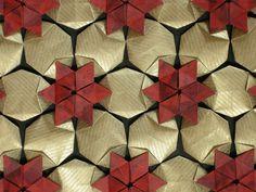 Hexagonal celtic quilt, via Flickr.