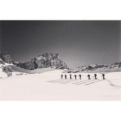 Ski de rando dans le Dévoluy. Merci à Madeline pour la photo !