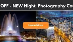 Have you ever been interested in taking night shots, but never known where to begin? Night photography can be intimidating, even for seasoned photographers who are used to taking shots during the day. Well, now you can learn how to take amazing photos from dusk till dawn with our brand new Night Photography video course …