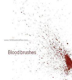 Blood 4 - Download  Photoshop brush http://www.123freebrushes.com/blood-4-2/ , Published in #BloodSplatter, #GrungeSplatter. More Free Grunge & Splatter Brushes, http://www.123freebrushes.com/free-brushes/grunge-splatter/ | #123freebrushes