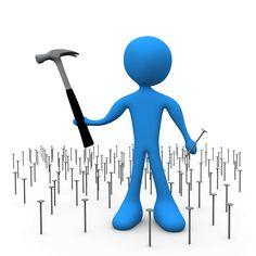 It takes the hammer of persistence to drive the nail of success - John Mason