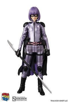Kick Ass Hit-Girl: Kick Ass 2 Sixth Scale Figure by Medicom #Affiliate #Hit, #SPONSORED, #Girl, #Kick, #Ass Hit Girl, Dc Costumes, Buy Comics, Super Hero Outfits, The Lone Ranger, Superhero Characters, Chloe Grace Moretz, Movie Props, Sideshow Collectibles