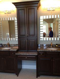 Makeup Vanity With Storage Bathroom Makeovers