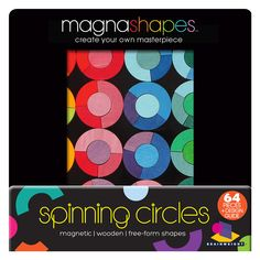 MagnaShapes - Spinning Circles from Oompa Toys