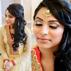 Awesome Simple Bridesmaid Hair Indian Bridal Hair And Down Hair Styles On Short Hairstyles Gunalazisus