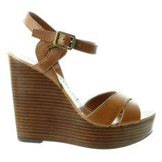 LAUREN Ralph Lauren Doreen Wedge Sandal Shoe - Womens